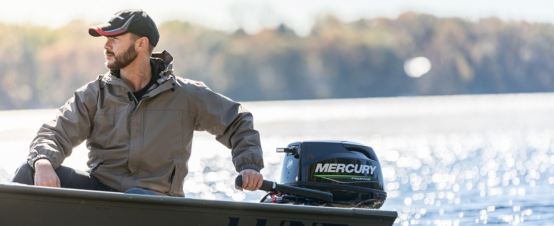 Новый Mercury FourStroke Propane/LPG