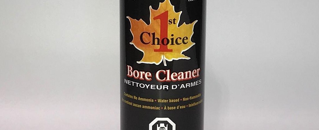 Эффективная новинка из Канады! Лучшее средство очистки оружейных стволов 1stChoiceBoreCleaner от бренда 1st Choice™
