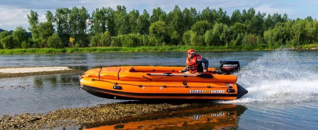 ПВХ-лодки от Солар. Новинки. Выставка «Охота и рыболовство на Руси 2020»