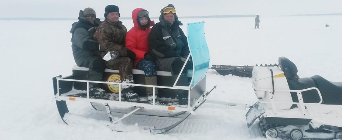 Сани для снегоходов серии «Ванёк»