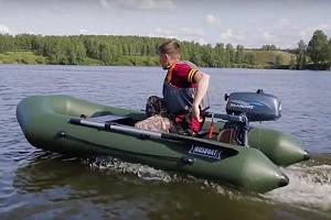 Видеообзор лодки ПВХ RUSBOAT 280Т