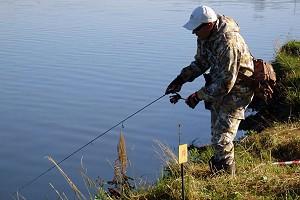 Чемпионат НСО по ловле рыбы спиннингом с берега