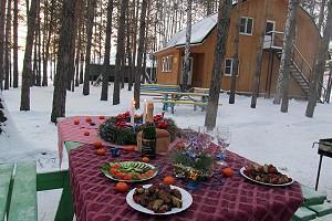 Новый Год на базе отдыха «Усть – Алеус»!