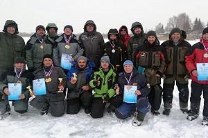 Первые открытые соревнования НСО по ловле на блесну со льда