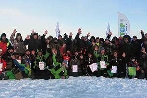 Первый этап Кубка НСО по ловле на мормышку. Видеотчет