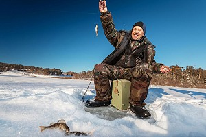 Рыбалка ранней весной. Последний лед: где, как и на что успешно ловить?